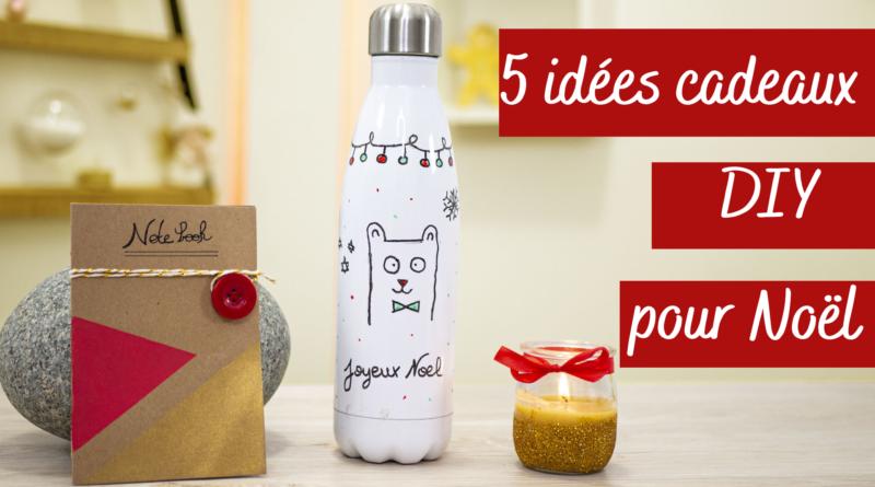 5 idées cadeaux de Noël DIY Faciles
