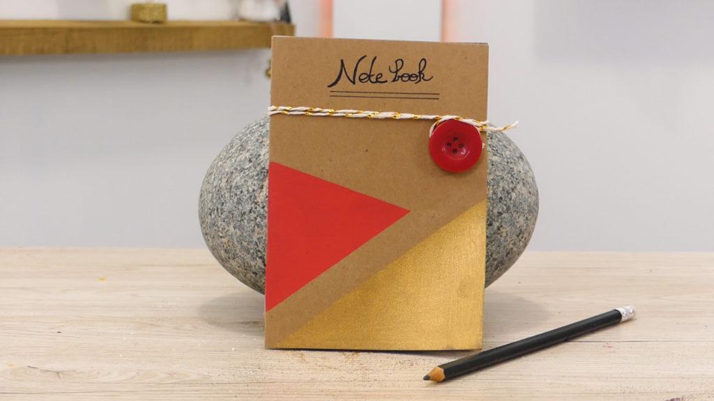 Idées cadeaux de Noël DIY : Un Notebook
