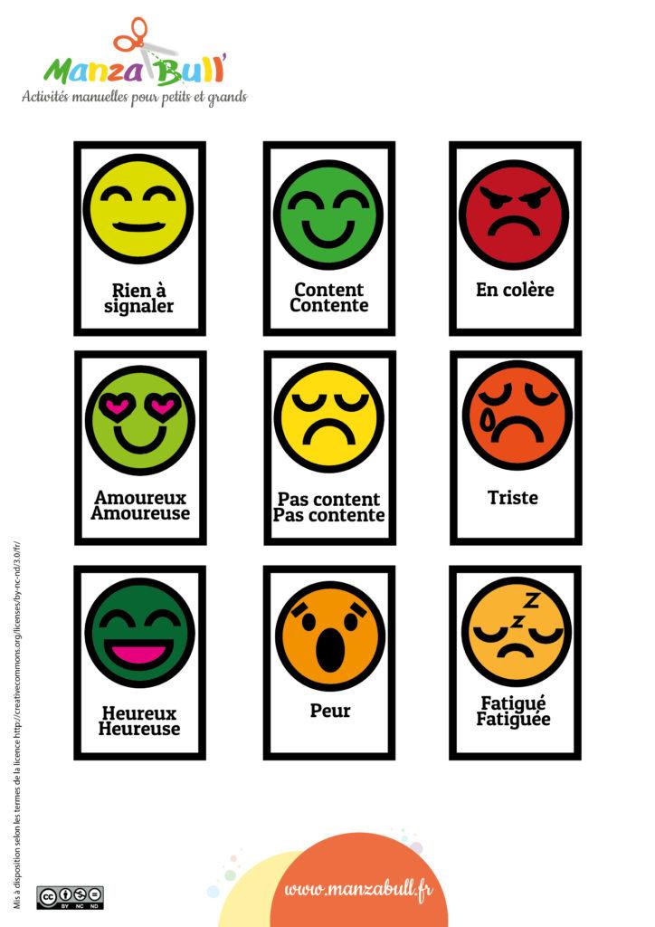 mémo des émotions