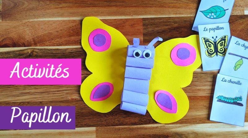 Le papillon : activités manuelles et fiches
