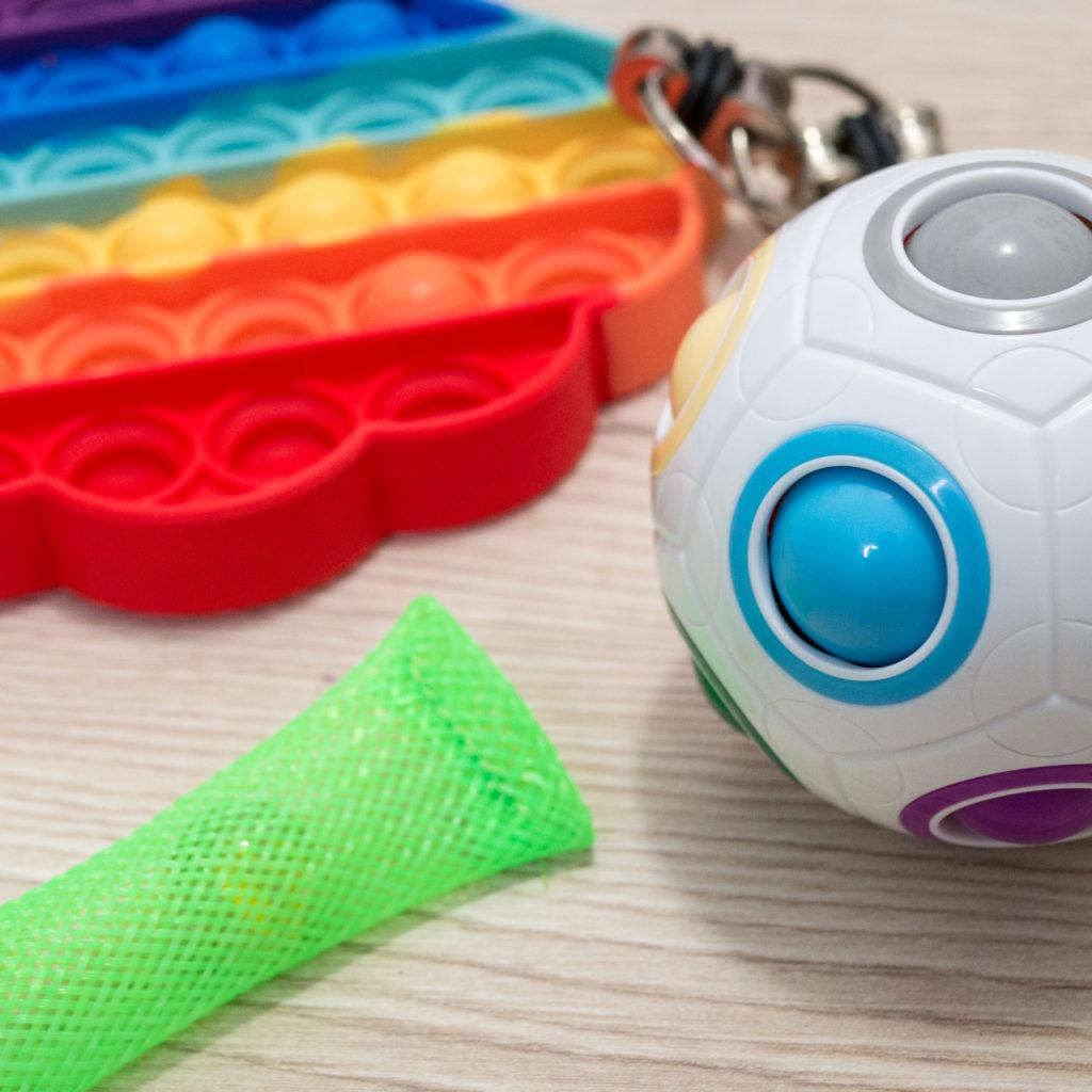 fidget toys et Pop it