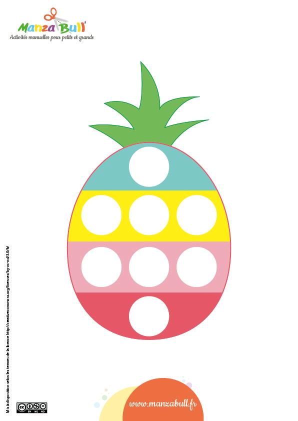 Patron popit ananas
