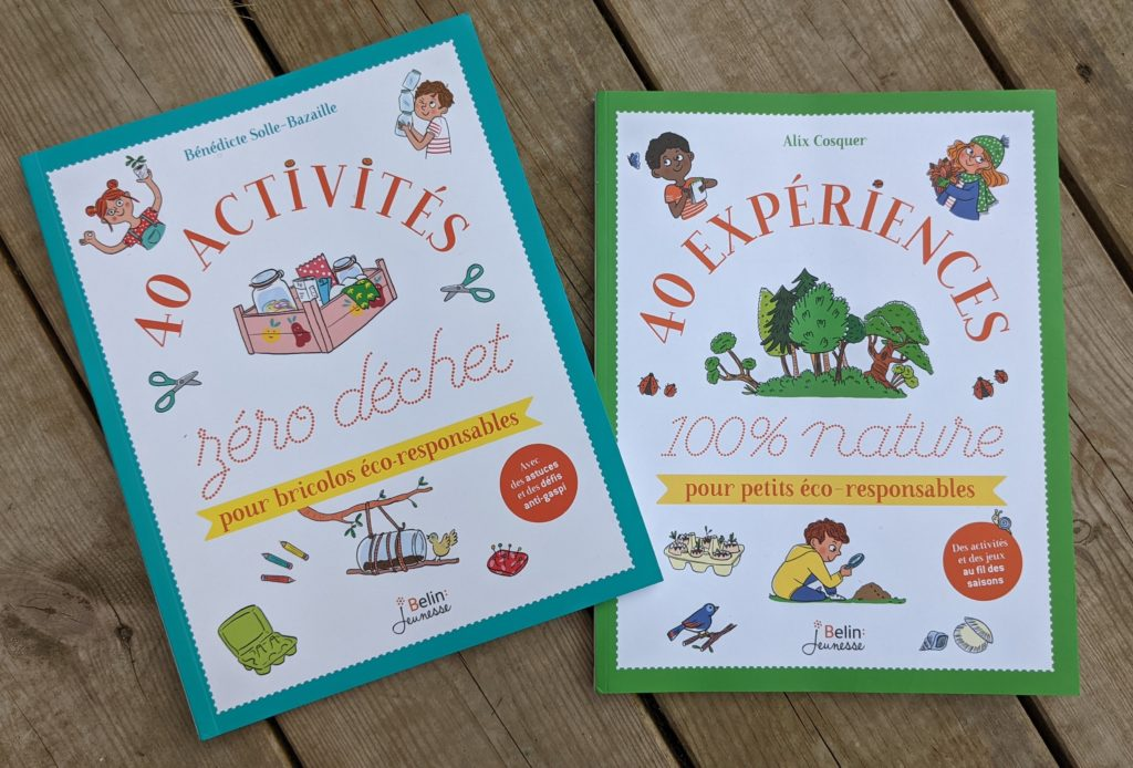 Livres pour les bricolos éco-responsables - éditions belin Jeunesse