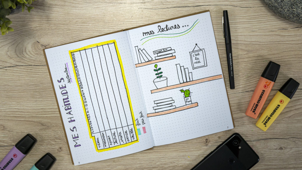 Bullet journal , lectures