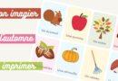 Imagier de l'automne à imprimer gratuitement